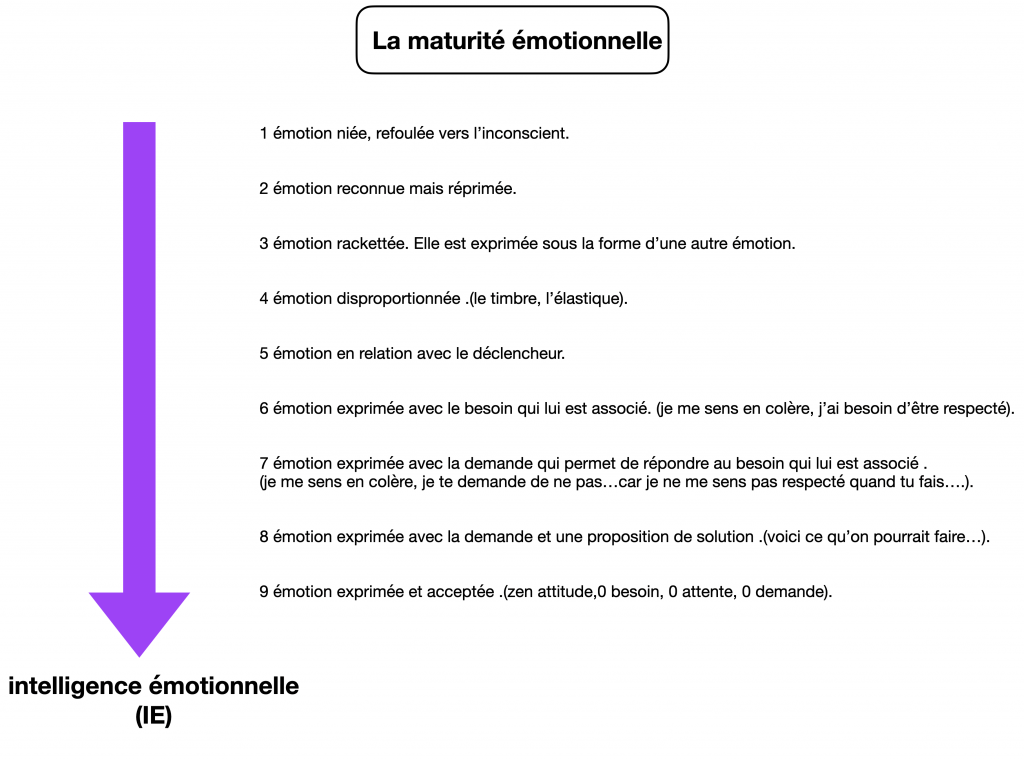 maturité émotionnelle
