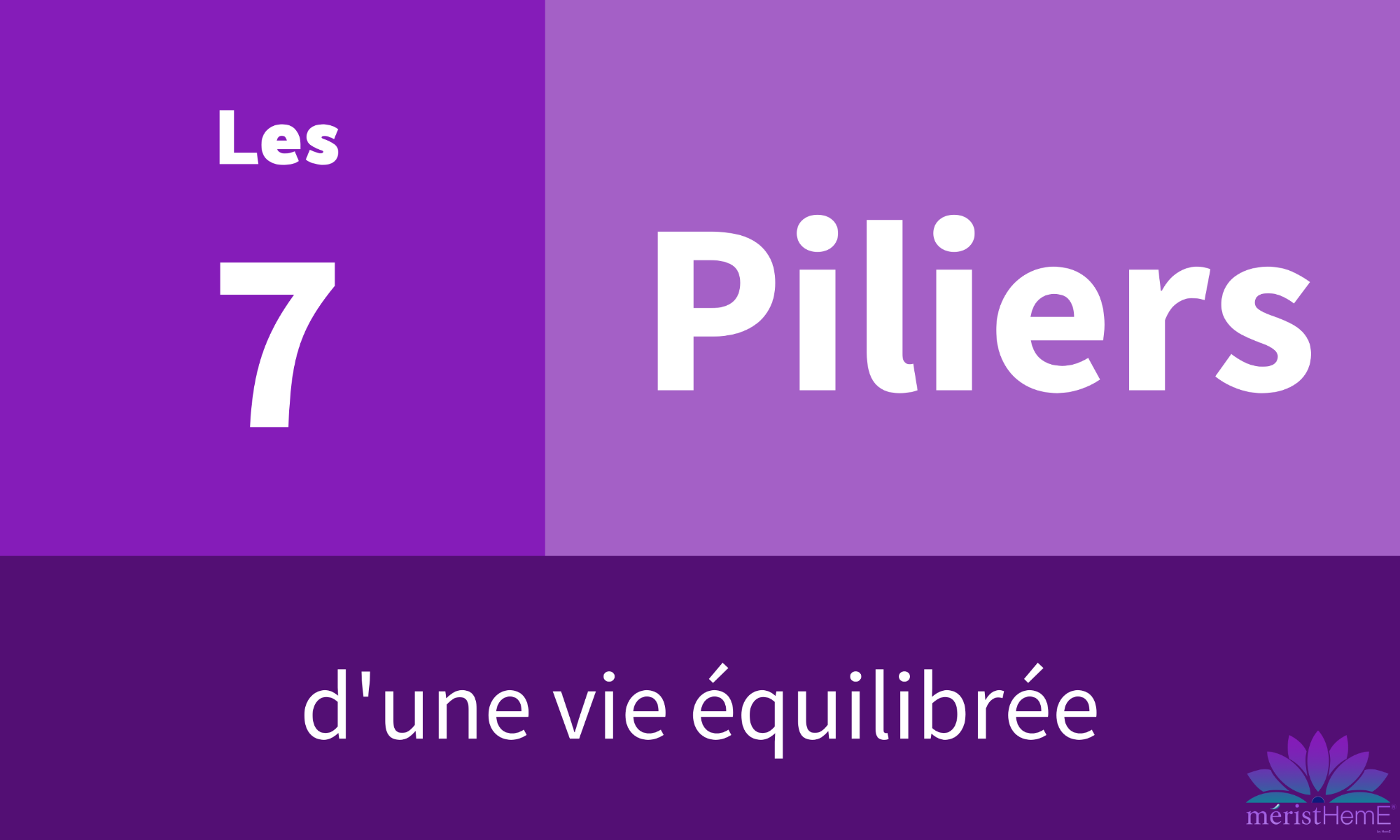 7 piliers
